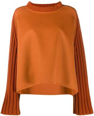 Fabiana Filippi long-sleeve flared sweater