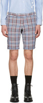Thom Browne Multicolor Tweed Side Tab Shorts