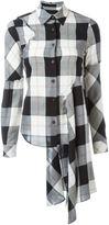 MM6 MAISON MARGIELA plaid shirt