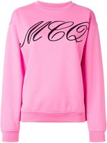 McQ by Alexander McQueen Tattoo print sweatshirt