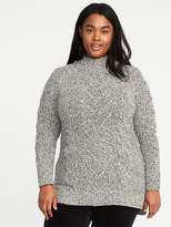 Old Navy Cable-Knit Plus-Size Tunic Sweater