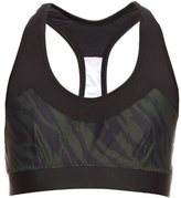 The Upside Chrissy Deep River-print performance bra