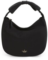 Kate Spade Haring Lane - Corinne Twill Bow Hobo - Black