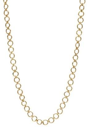 "Katy Briscoe Cappy 18K Yellow Gold Small Necklace/36"""