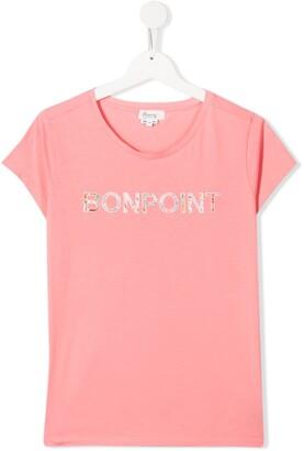Bonpoint logo print T-shirt