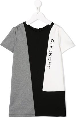 Givenchy Kids geometric logo print dress