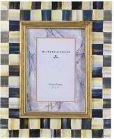 "Mackenzie Childs MacKenzie-Childs Courtly Check Picture Frame, 5"" x 7"""