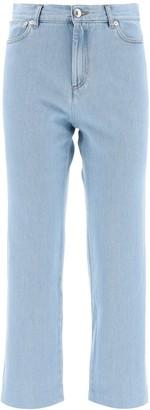 A.P.C. NEW SAILOR JEANS 26 Light blue Cotton, Denim