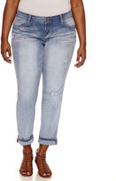 YMI Jeanswear Skinny Jeans-Juniors Plus