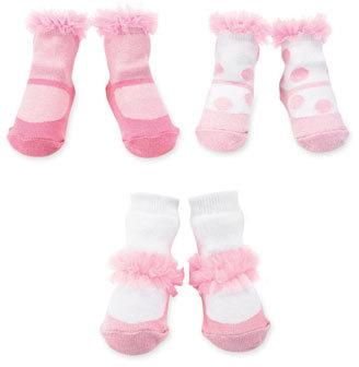 Mud Pie Infant Boy's Socks Set (3-Pack)