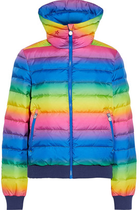 Perfect Moment Queenie Degrade Quilted Down Ski Jacket