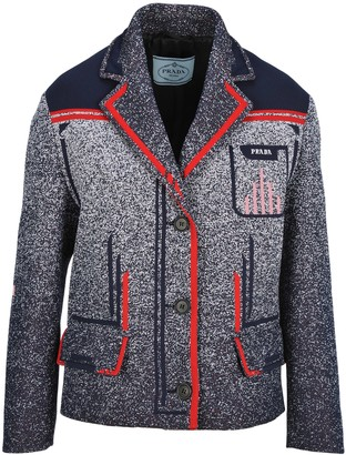 Prada Technical Mouline Jacquard Jacket