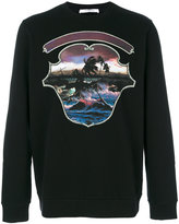 Givenchy Hawai Crest print sweatshirt - men - Cotton - S