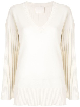 Dion Lee Corrugated Pleat Jumper