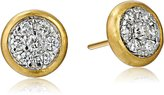 "Gurhan Moonstruck"" Diamond Stud Earrings (3/5 cttw, G-H Color, SI1-SI2 Clarity)"