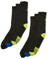 New Balance 6-Pack Performance Crew Socks