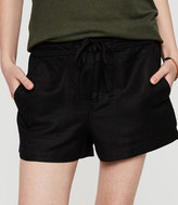 Lou & Grey Brushed Linen Shorts