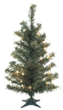 Vickerman 30 inch Canadian Pine Artificial Christmas Tree