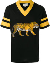 Gucci embroidered tiger T-shirt