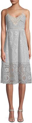 Paul & Joe Sister Helene A-Line Lace Dress