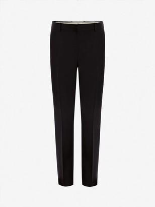 Alexander McQueen Wool Mohair Pants
