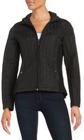 Weatherproof Plus Quilted Zip-Front Jacket