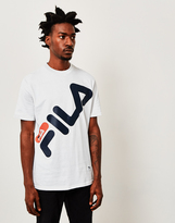 Fila Graphic Logo T-Shirt White