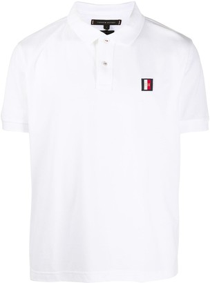 Tommy Hilfiger Short Sleeve Embroidered Logo Polo Shirt