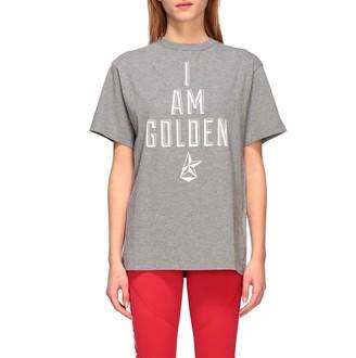 Golden Goose Short-sleeved T-shirt With I Am Golden Print