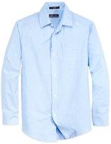 Nautica Boys' Husky Uniform Oxford Shirt