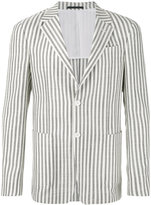Z Zegna striped blazer - men - Silk/Cotton/Cupro - 48