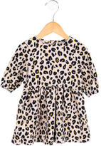 Stella McCartney Girls' Corduroy Leopard Print Dress w/ Tags