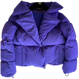 Chanel Purple Polyester Coats