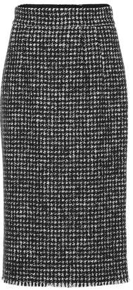 Dolce & Gabbana Houndstooth-checked pencil skirt