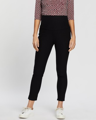 Angel Maternity Over The Belly Slim Crop Pants