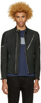 Diesel Black Nubuck L-Mackson Jacket