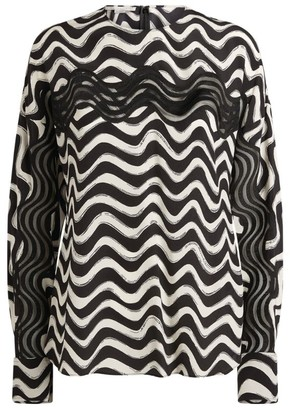 Stella McCartney Amaya Geometric Top