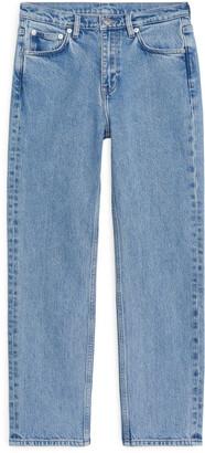 Arket REGULAR CROPPED STRETCH Jeans