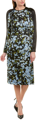 Escada Silk Sheath Dress