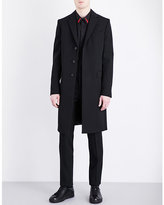 Givenchy Wings Single-breasted Wool Coat