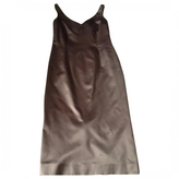 Christian Dior Grey Synthetic Dress