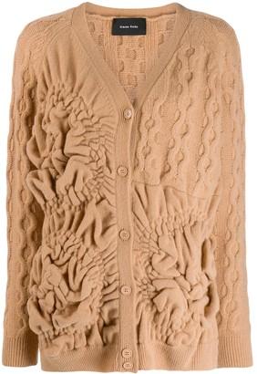 Simone Rocha textured cardigan