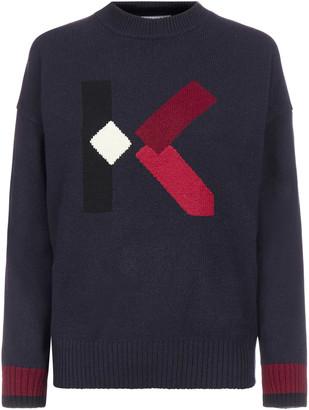 Kenzo K-monogram Wool Sweater