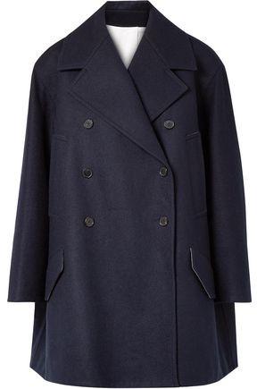 Calvin Klein Double-breasted Oversized Wool-felt Coat