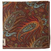 Robert Talbott Men's Paisley Pocket Square