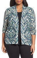 Nic+Zoe Plus Size Women's Illusion Cardigan