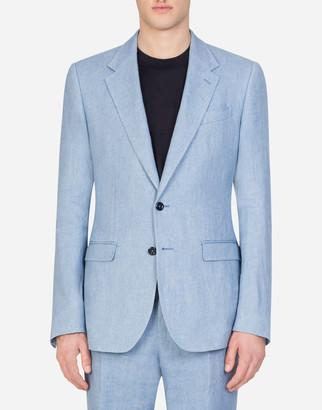 Dolce & Gabbana Linen Taormina Jacket