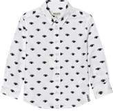 Kenzo White All-Over Eye Print Shirt