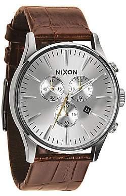Nixon Men's Sentry Chronograph Watch