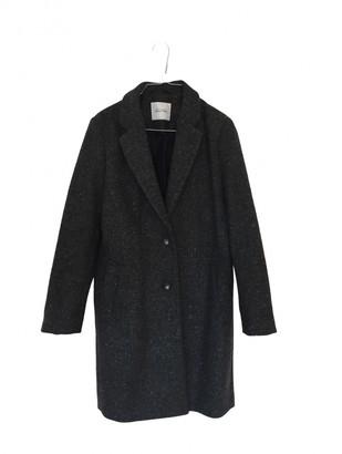 American Vintage Grey Wool Coats